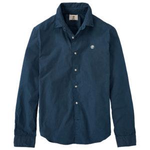 RATTLE RIVER 小格纹修身长袖衬衫