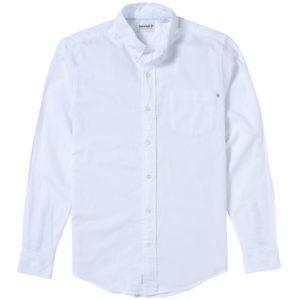 男裝PLEASANT RIVER 标准板型牛津纺衬衫