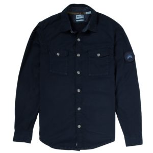 男裝LS UTILITY OVERSHIRT多功能外套式长袖衬衫