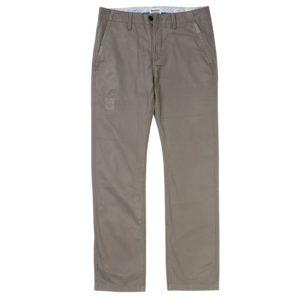 男裝SQUAM LAKE 直筒磨旧斜纹布卡其裤