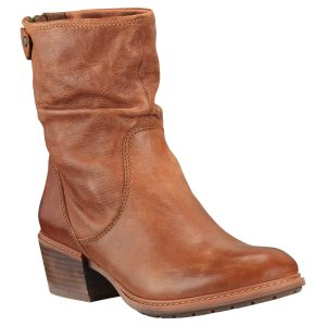 女鞋Sutherlin Bay Mid Back Zip Boots