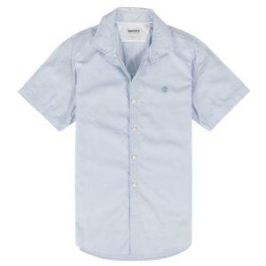 男裝LANE RIVER 牛津纺修身短袖衬 衫