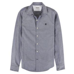 男裝LANE RIVER 牛津纺修身长袖衬衫