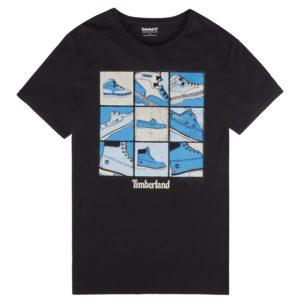 男裝KENNEBEC RIVER 鞋靴图案短 袖T恤衫
