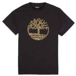 男裝农历新年树标短袖T恤衫