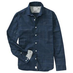 男裝TIOGA RIVER 编织修身长袖衬衫