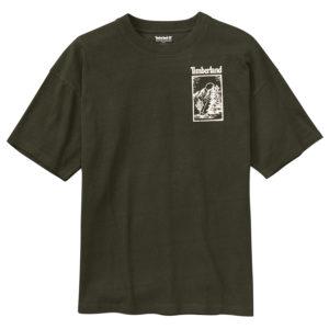 男裝SS 戶外靈感圖案短袖T恤(寬松)