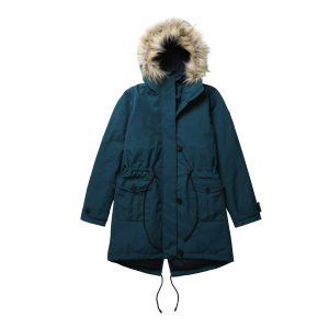 女裝Modern Outdoor 防水可脱卸毛领羽绒派克大衣