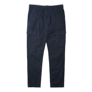 男裝AF LOVELL LAKE 弹力防撕裂斜纹布拼?#29992;?#26009;工装裤