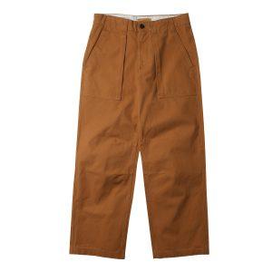 男裝阔腿帆布工装裤