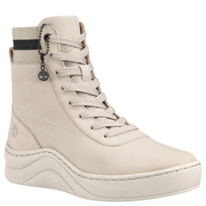 女鞋Ruby Ann Leather And Fabric Hightop Sneaker