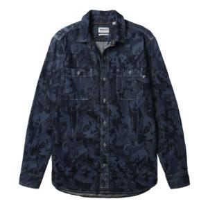 男裝LS MUMFORD RIVER 牛仔工裝長袖襯衫(標準)