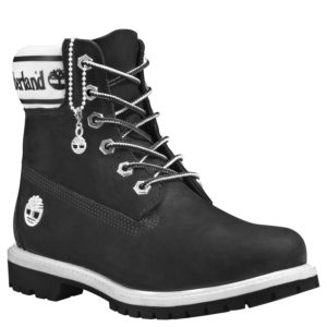 女鞋Timberland® Icon 6″ Leather And Fabric Waterproof Boot