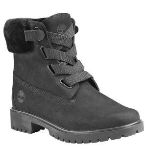 女鞋Jayne Authentic Shearling Waterproof Convenience Boot