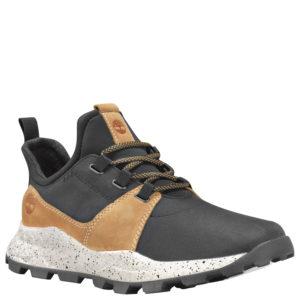 男鞋Brooklyn Leather And Fabric Oxford