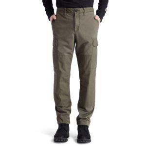 PROFILE LAKE混合面料宽松锥 形工装裤