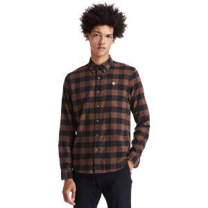SolucellAir™科技MASCOMA RIVR格子修身长袖衬衫