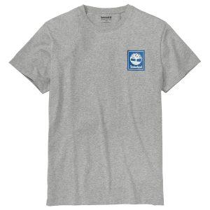 男裝后背圖案短袖T恤衫