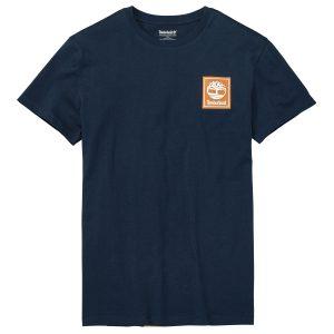 男裝后背图案短袖T恤衫