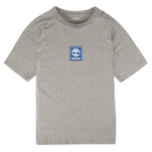 男裝后背線形品牌標識短袖T恤衫