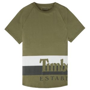 男裝品牌標識圖案短袖T恤衫