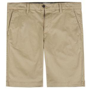 男裝SQUAM LAKE 弹力斜纹直筒卡其短裤