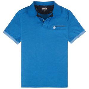 男裝STILL RIVER 素色COOLMAX®+ 防紫外线单珠地面料素色修身POLO衫