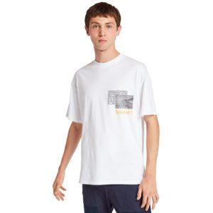 短袖NATURE NEEDS HEROES™ 宣言照片T恤(宽松)