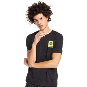 短袖背面LOGO迷彩T恤