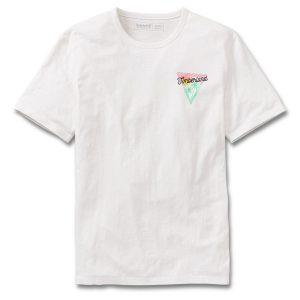 短袖SAWYER RIVER 海边漫步图案T恤