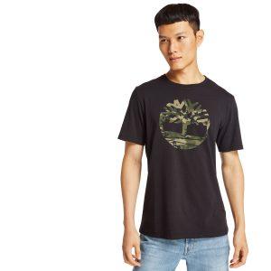 短袖KENNEBEC RIVER 迷彩樹形LOGO T恤