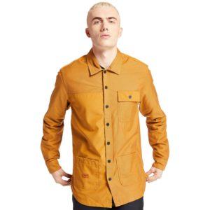 LS MASCOMA RIVER REBOTL™ 拼接工装外套式衬衫