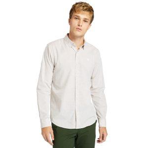 TIOGA RIVER SOLID非纯色长袖衬衣 (修身