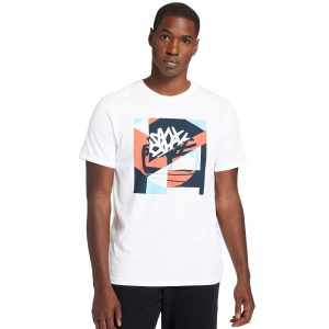 COASTAL COOL图案LOGO短袖T恤 (常规)