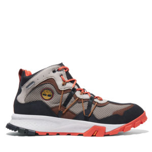 Men's Garrison Trail Waterproof Leather/Fabric Mid Hiker Boots