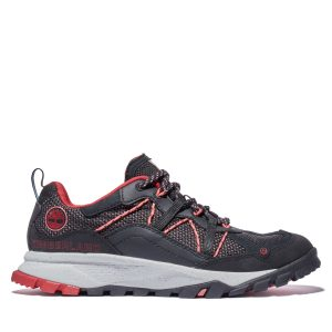 Men's Garrison Trail Leather/Fabric Low Hiker Boots