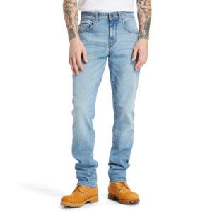 SARGENT LAKE弹性靛蓝牛仔裤(修身)