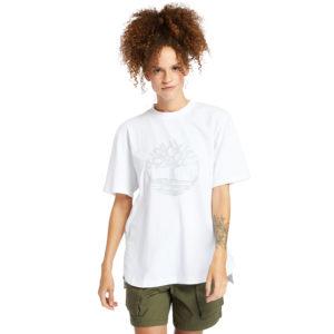 带反光树LOGO超大款T恤(宽大)