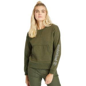 衣袖带金属线形LOGO圆领衫(常规)