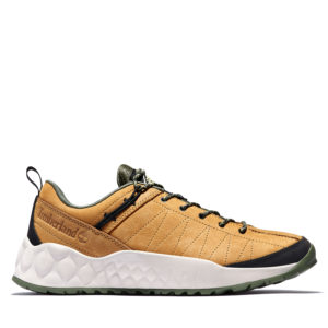 Men's Solar Wave Leather/Fabric Hiker Sneakers